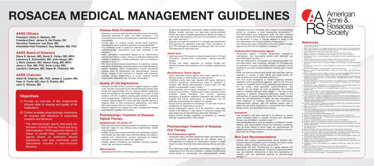 AARS Rosacea Medical Management Guidelines