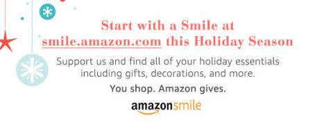 Start with a Smile this Holday Season! Support the AARS through Amazon